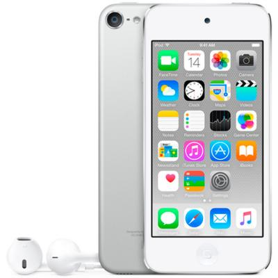 Плеер Apple iPod touch 128Gb MKWR2RU/A серебристый