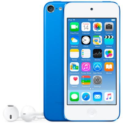 цена на Плеер Apple iPod touch 128Gb MKWP2RU/A синий