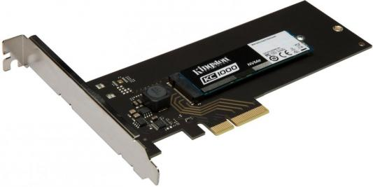 Твердотельный накопитель SSD M.2 480 Gb Kingston KC1000 Read 2700Mb/s Write 1600Mb/s PCI-E SKC1000H/480G твердотельный накопитель ssd m 2 480gb pny cs2030 read 2800mb s write 1550mb s pci e m280cs2030 480 rb