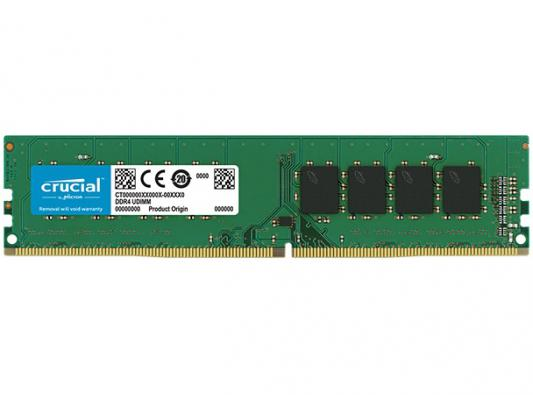 Оперативная память 16Gb (1x16Gb) PC4-21300 2666MHz DDR4 DIMM CL19 Crucial CT16G4DFD8266