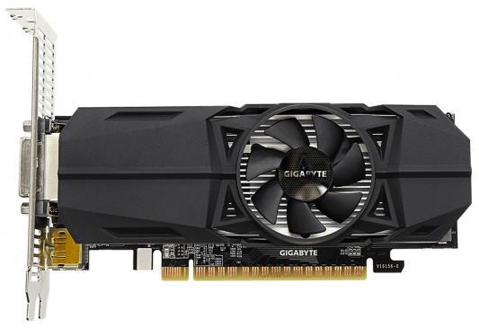 Видеокарта GigaByte GeForce GTX 1050 GV-N1050-2GL PCI-E 2048Mb 128 Bit Retail (GV-N1050-2GL) видеокарта gigabyte geforce gt 730 gv n730d5 2gl pci e 2048mb 64 bit retail