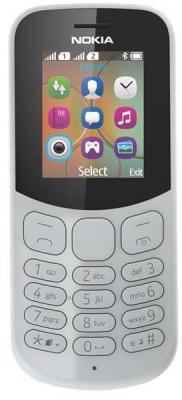 Мобильный телефон NOKIA 130 DS TA-1017 GREY серый 1.8 8 Мб подвесной светильник la lampada 130 l 130 8 40