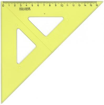 Треугольник Koh-i-Noor 744152 16 см пластик от 123.ru