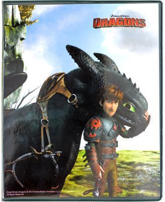 Касса Action! букв слогов и цифр Dragons 2 с файлом и вкладышем DR-CFL1 раннее развитие айрис пресс умный малыш касса букв набор карточек для детей