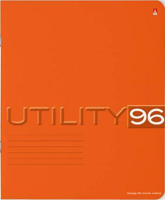 Тетрадь общая Альт Альт UTILITY 96 листов клетка скоба 7-96-220*
