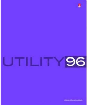 Тетрадь общая Альт Utility 96 листов клетка скрепка 7-96-220 в ассортименте