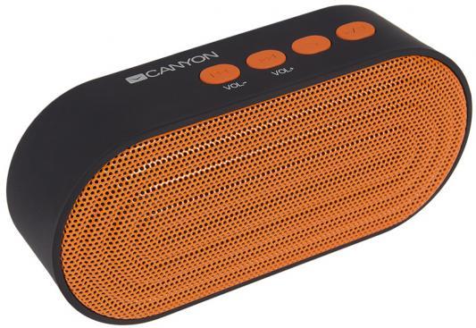 Портативная акустикаCanyon CNE-CBTSP3 черный/оранжевый