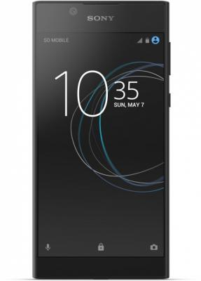Смартфон SONY Xperia L1 Dual черный 5.5 16 Гб NFC LTE Wi-Fi GPS 3G G3312Blk смартфон asus zenfone live zb501kl золотистый 5 32 гб lte wi fi gps 3g 90ak0072 m00140