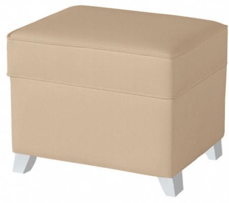 Купить Пуф для кресла-качалки Micuna Foot Rest (искусственная кожа/ white/beige), Пуфы, банкетки, кресла, софы