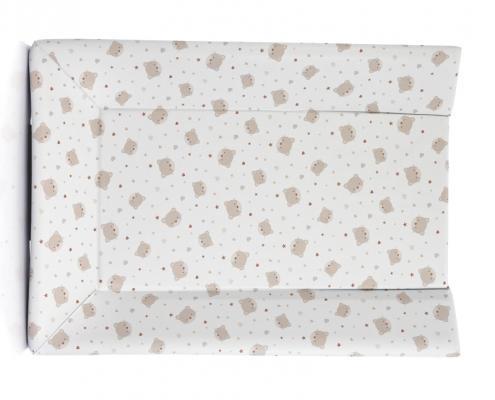 Матрасик пластиковый Micuna (beige bear) матрасик micuna harmony пластиковый для пеленания cp 1684 pink