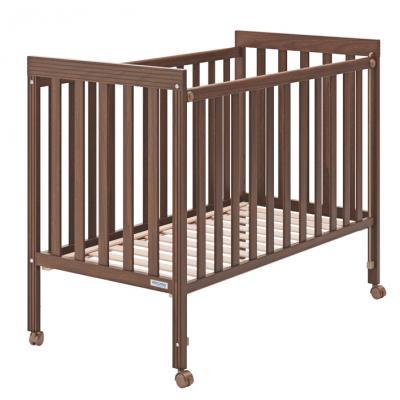 Купить Кроватка Micuna Basic1 (chocolate), шоколад, массив бука / МДФ, Кроватки без укачивания