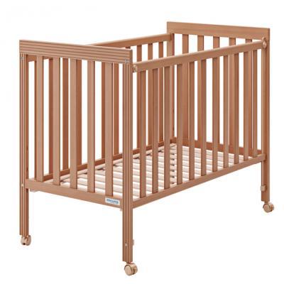 Купить Кроватка Micuna Basic1 (honey), мед, массив бука / МДФ, Кроватки без укачивания
