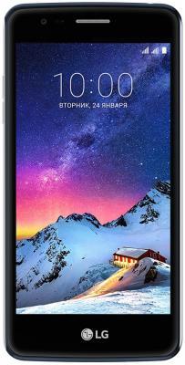 """купить Смартфон LG K8 2017 черный синий 5"""" 16 Гб LTE Wi-Fi GPS 3G LGX240.ACISGK недорого"""