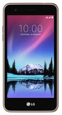 Смартфон LG K7 2017 8 Гб титан (LGX230.ACISTN) смартфон lg q6 32 гб черный lgm700an acisbk