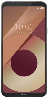 Смартфон LG Q6a 16 Гб черный смартфон lg q6a 16 гб платина lgm700 acispl