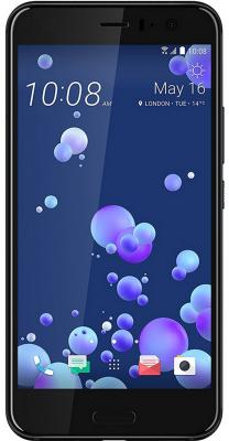 Смартфон HTC U11 128 Гб черный (99HAMB123-00) смартфон htc u11 64 gb ceramic black