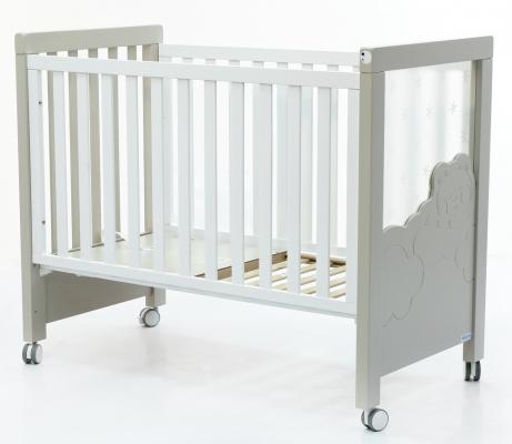 Кровать Micuna Dolce Luce Relax Plus (Микуна Дольче Люси Релакс Плюс) 120*60 white/grey