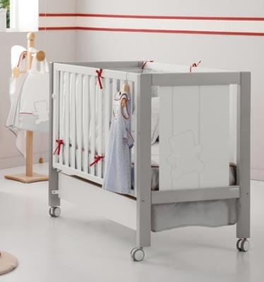 Кровать Micuna Neus Relax (Микуна Неус Релакс) 120*60 grey/white