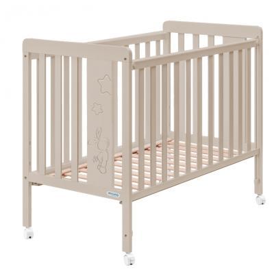 Кровать Micuna Rabbit (Микуна Рэббит) 120*60 sand с матрацем CH-620
