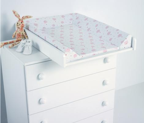 Доска пеленальная поворотная Micuna CP-1199 Plus 2 (white pink bears)