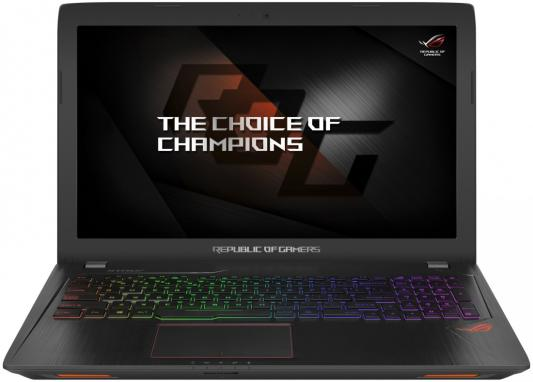 Ноутбук ASUS ROG GL553VE-FY200T 15.6 1920x1080 Intel Core i7-7700HQ 90NB0DX3-M02800 ноутбук asus k751sj ty020d 90nb07s1 m00320