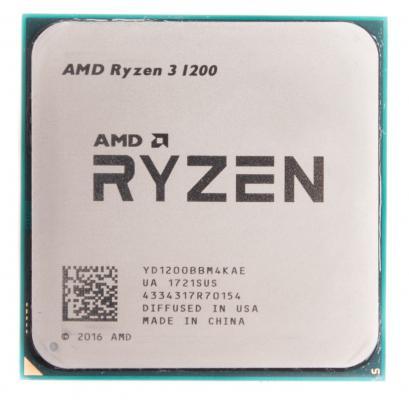 Процессор AMD Ryzen 3 1200 YD1200BBM4KAE Socket AM4 OEM процессор amd ryzen 7 1700x oem yd170xbcm88ae