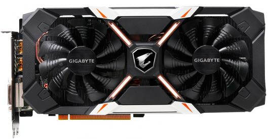 Видеокарта 6144Mb Gigabyte GeForce GTX1060 PCI-E 192bit GDDR5 DVI HDMI DP GV-N1060AORUS X-6GD rev. 2.0 Retail видеокарта msi geforce gtx 1060 1594mhz pci e 3 0 6144mb 8100mhz 192 bit dvi hdmi hdcp gtx 1060 gaming x 6g