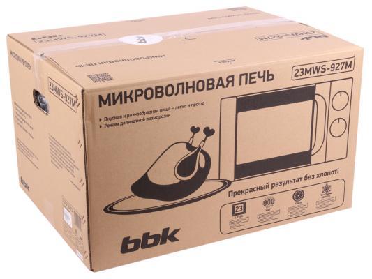 СВЧ BBK 23MWS-927M/W 900 Вт белый