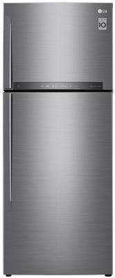 Холодильник LG GC-H502HMHZ серебристый lg gc b40bsmqv