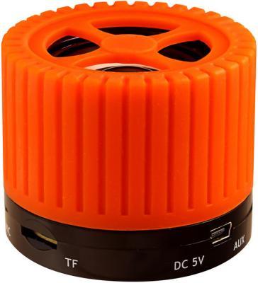 Портативная акустика Ginzzu GM-988O оранжевый/черный