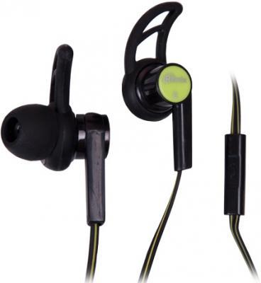 Гарнитура Ritmix RH-126M черный зеленый гарнитура ritmix rh 105m черный