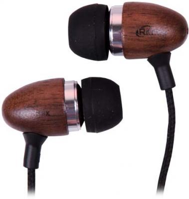 Наушники Ritmix RH-158 Dark Venge коричневый ritmix rh 011 dark brown