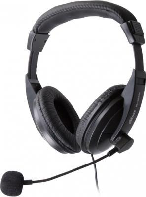 Игровая гарнитура проводная Ritmix RH-524M черный игровая гарнитура проводная ritmix rh 534m черный серый