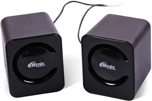Колонки Ritmix SP-2050 2x3 Вт черный