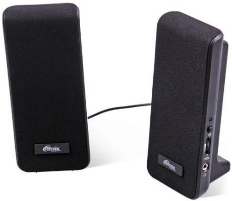 Колонки Ritmix SP-2070 2x2 Вт черный