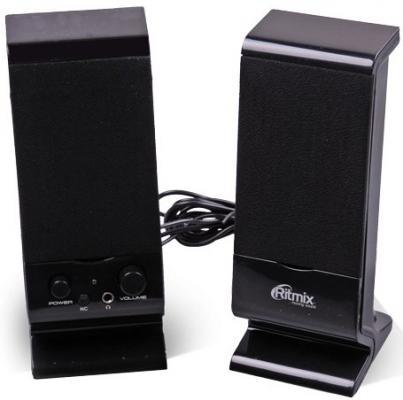 Колонки Ritmix SP-2080 2x3 Вт черный