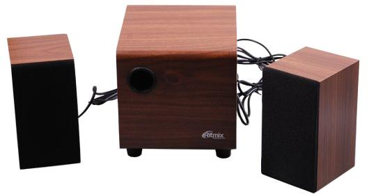 Колонки Ritmix SP-2150w 6+2x3 Вт коричневый