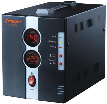 Стабилизатор напряжения Exegate DCR-1000D 1 розетка EP259016RUS