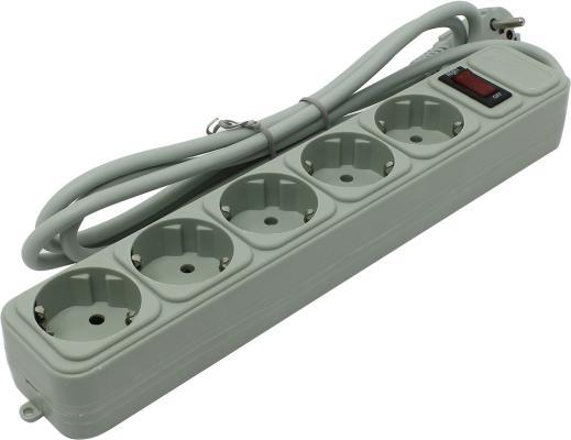 Сетевой фильтр Exegate SP-5-1.8G 1.8 м 5 розеток EX221173RUS