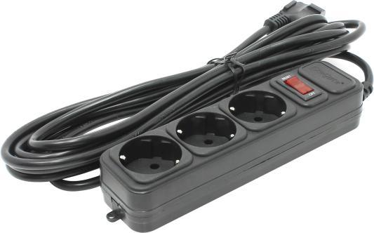 Сетевой фильтр Exegate SP-3-5B 5 м 3 розетки EX221182RUS