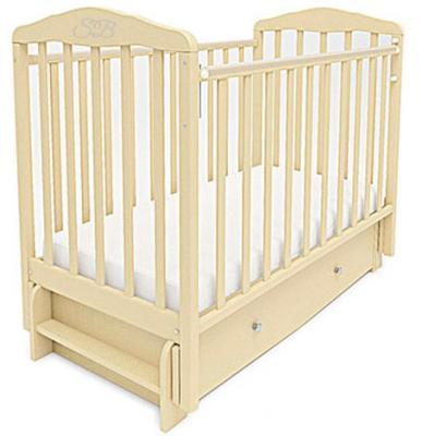 Кроватка с маятником Sweet Baby Eligio (avorio/слоновая кость)