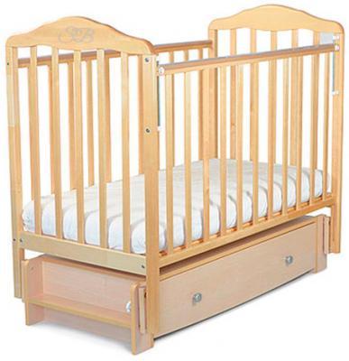 Кроватка с маятником Sweet Baby Eligio (betulla/береза)
