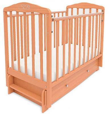 Кроватка с маятником Sweet Baby Eligio (faggio naturale/бук натуральный)