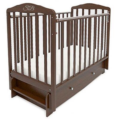 Кроватка с маятником Sweet Baby Eligio (wenge/венге)