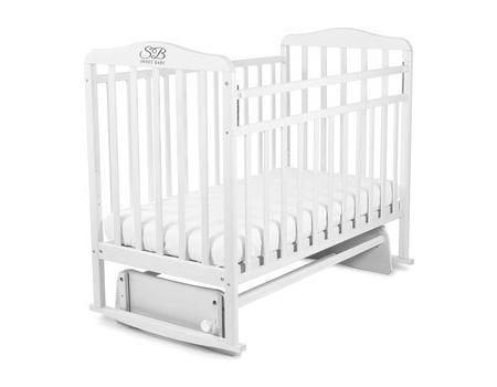 Кроватка с маятником Sweet Baby Ennio (bianco/белый)
