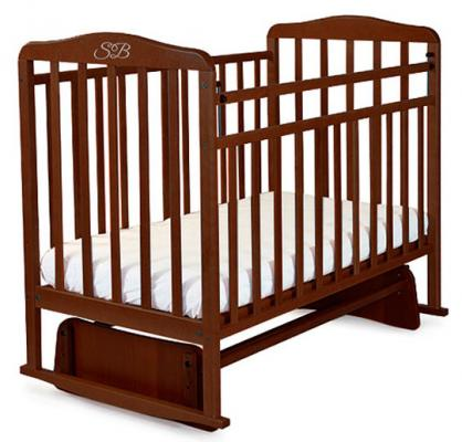 Кроватка с маятником Sweet Baby Ennio (wenge/венге)