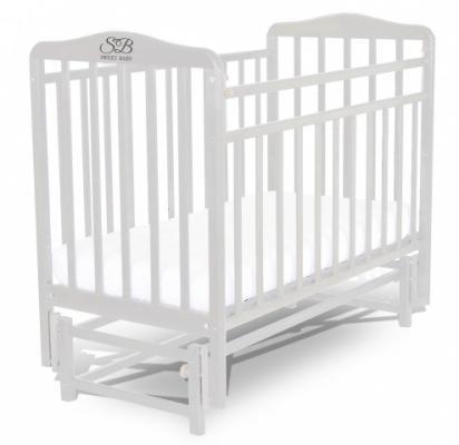 Кроватка с маятником Sweet Baby Flavio Bianco (Белый)