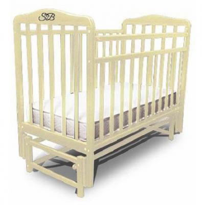 Кроватка с маятником Sweet Baby Flavio Cammello (Бежевый)