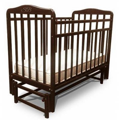 Кроватка с маятником Sweet Baby Flavio (wenge/венге)