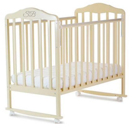 Кроватка с маятником Sweet Baby Lorenzo (avorio/слоновая кость)